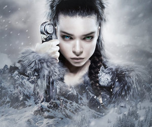 warrior and winter image
