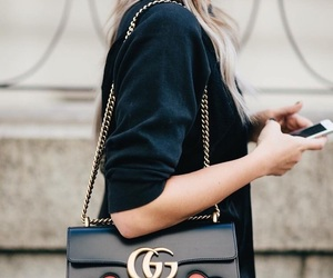bag, hearts, and cute image