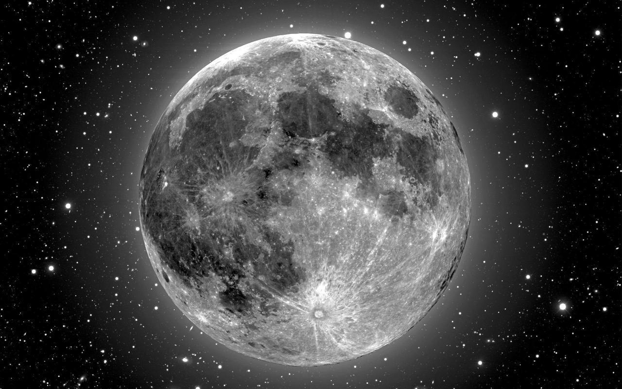moon, luna, and stars image