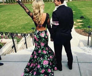 beautiful, flowers, and Prom image