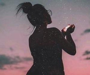 stars, girl, and photography image