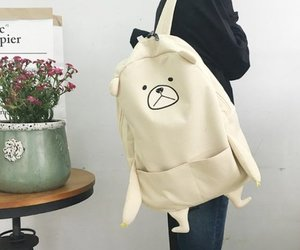 cute, backpack, and nice image