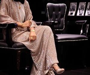fashion, hijab, and abaya image