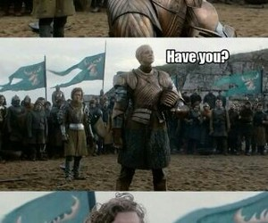 game of thrones, brienne, and funny image