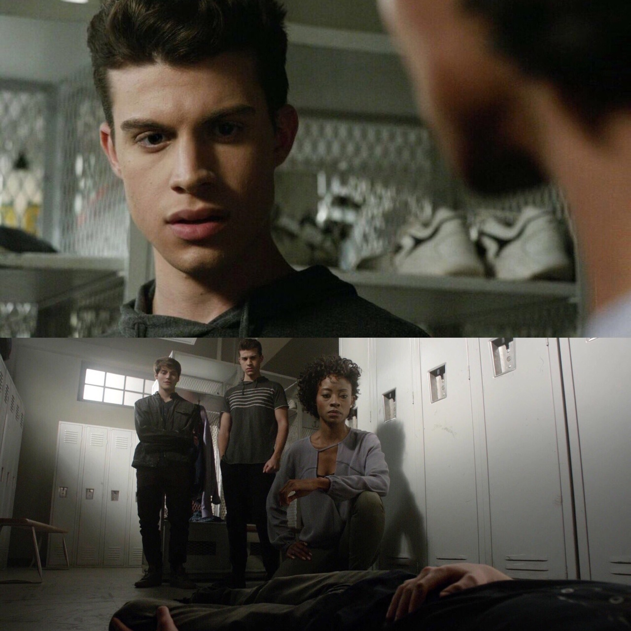 gabe, andrew, and teen wolf image