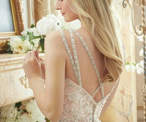 gown, wedding, and wedding dress image