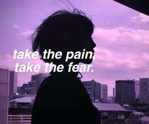 girl, pink, and sad song image