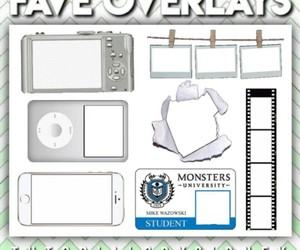 overlays, piccollage, and overlay pack image