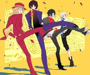 anime, dazai osamu, and party image