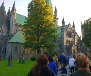beautiful, trondheim, and cathedral image