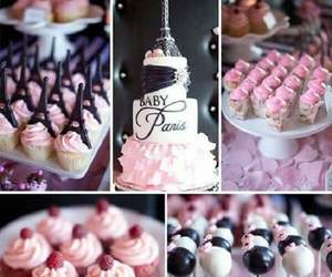 paris, cupcake, and pink image