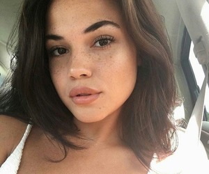 freckles, lips, and cute image
