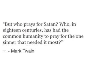 quotes, satan, and mark twain image