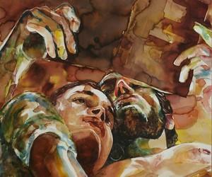 art, artwork, and boyfriend image