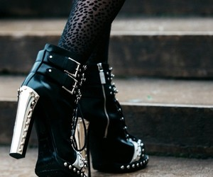 aesthetic, ankle boots, and boots image