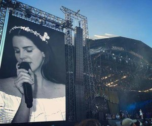 lana del rey, indie, and concert image