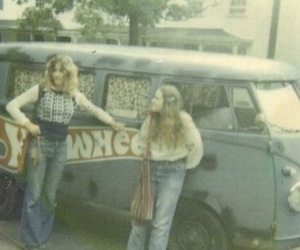 1970s, hippies, and vintage image