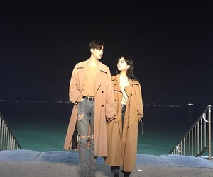 aesthetic, korean couple, and love image