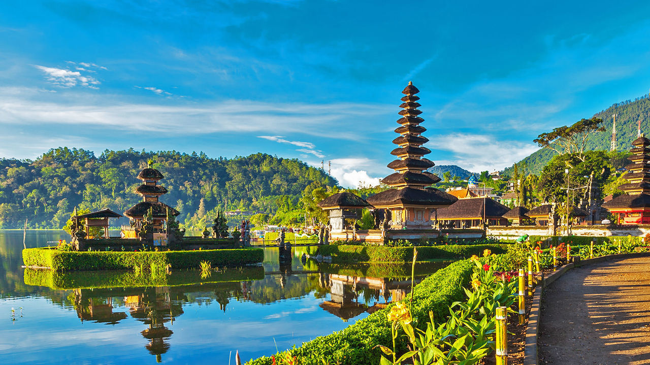 bali and indonesia image