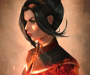 azula, avatar, and avatar the last airbender image