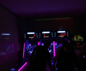 aesthetic, arcade, and black image