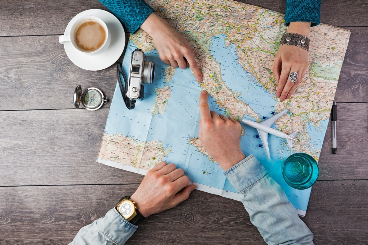 travel, airplane, and map image