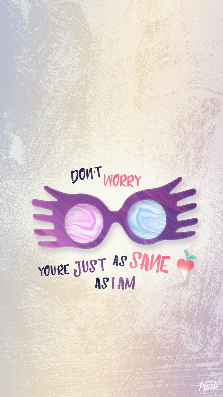 luna lovegood, wallpaper, and harry potter image