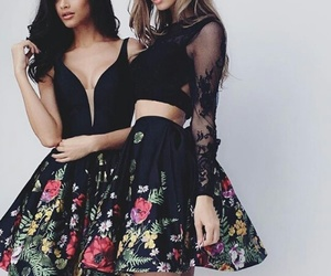 black, dresses, and outfits image