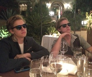 dylan sprouse, cole sprouse, and sprouse twins image
