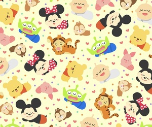 disney, minnie, and tiger image