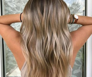 beauty, blonde, and ombre image