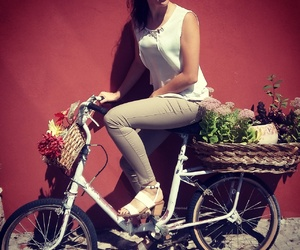 bicycle, love, and life image