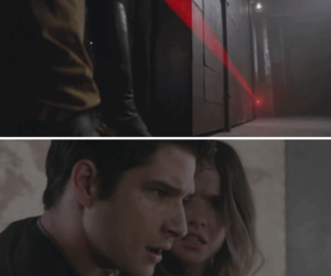 teen wolf, tyler posey, and shelley henning image