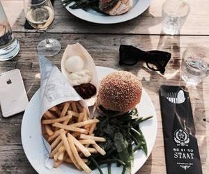 food and hamburgers image