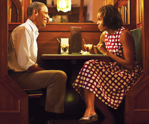 barack obama, cute, and michelle obama image