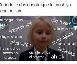 funny, crush, and chistes image