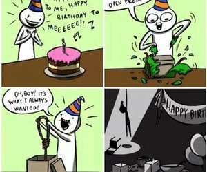 birthday, suicide, and sad image