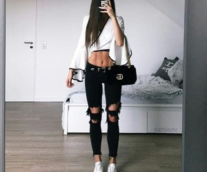 fashion, fitness, and style image