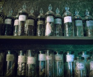 harry potter, potion, and slytherin image