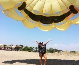 summer beach girl image