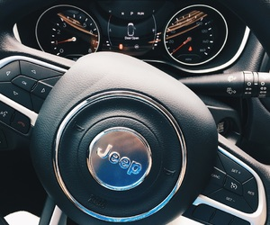 jeep, steering wheel, and jeep compass image