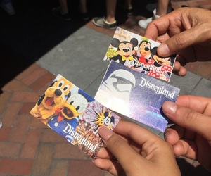 disney, ticket, and love image