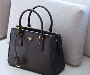 bag, Prada, and black image