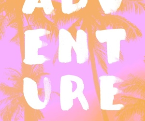 adventure, pink, and wallpaper image