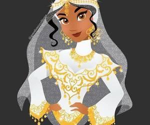 bride, disney, and princess image