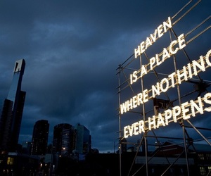 heaven, quotes, and dark image