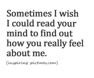 I Wishh I CoUld ReAd YoUr MiNd😔