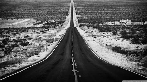 life and road image