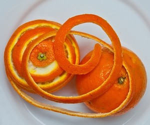 orange, orange peel, and oranges image