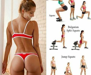 exercises, gym, and sport image